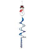 """Snowman Wind-Spinner 3' 6"""""""