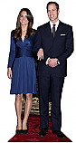 Kate and William Royal Cardboard Cutout Standup Prop