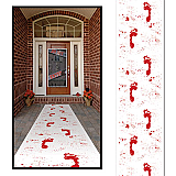 "Bloody Footprints Runner 24"" x 10'"