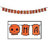 "Felt Happy Halloween Streamer 5"" x 6'"