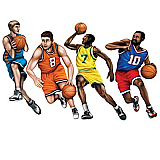 Basketball Cutouts 20""