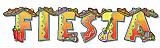 "Fiesta Streamer 8"" x 35"""