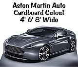 Aston Martin Spy Car Cardboard Cutout Standup Prop