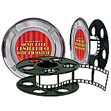 Movie Reel With Filmstrip Centerpiece 9""