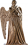 Weeping Angel - Doctor Who Cardboard Cutout Standup Prop